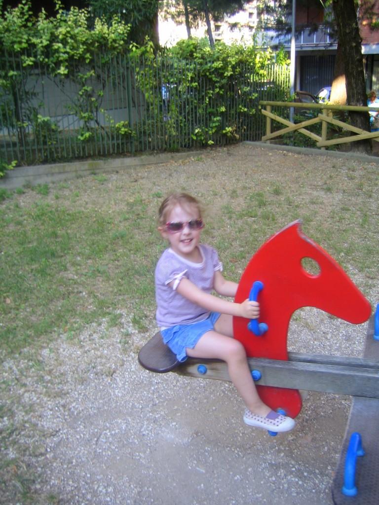 At the park - Natalie
