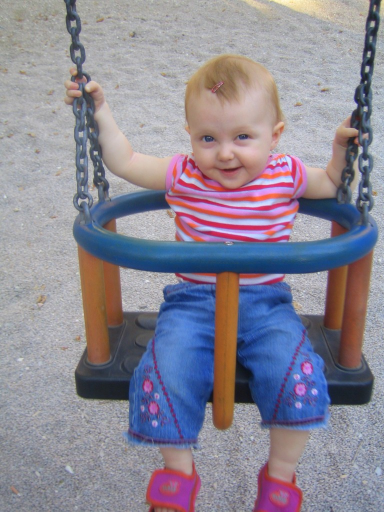 At the park - Sophie