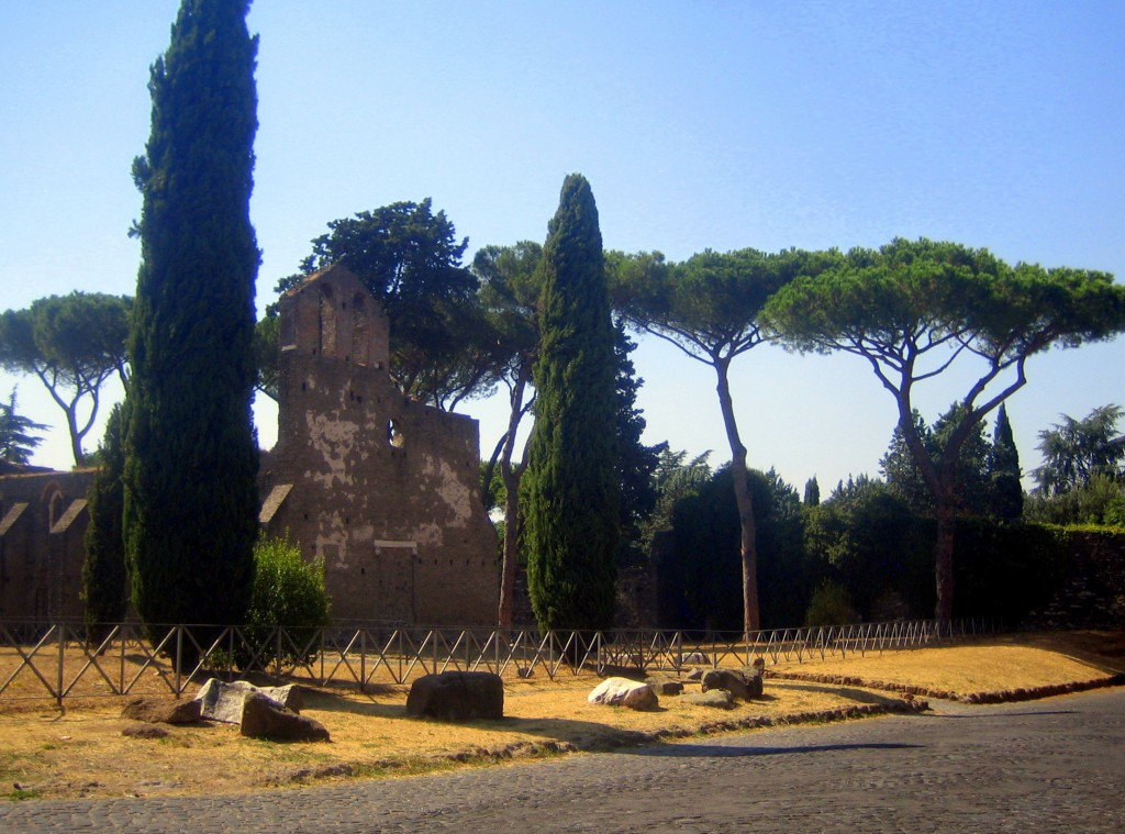 Ruins on the Appian Way 1