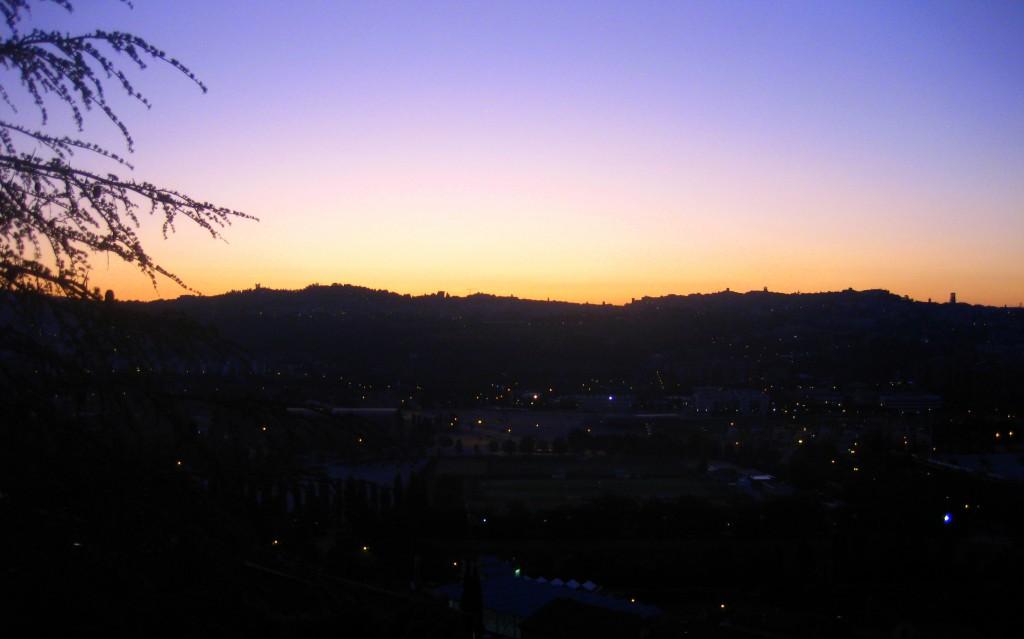 A sunrise getaway