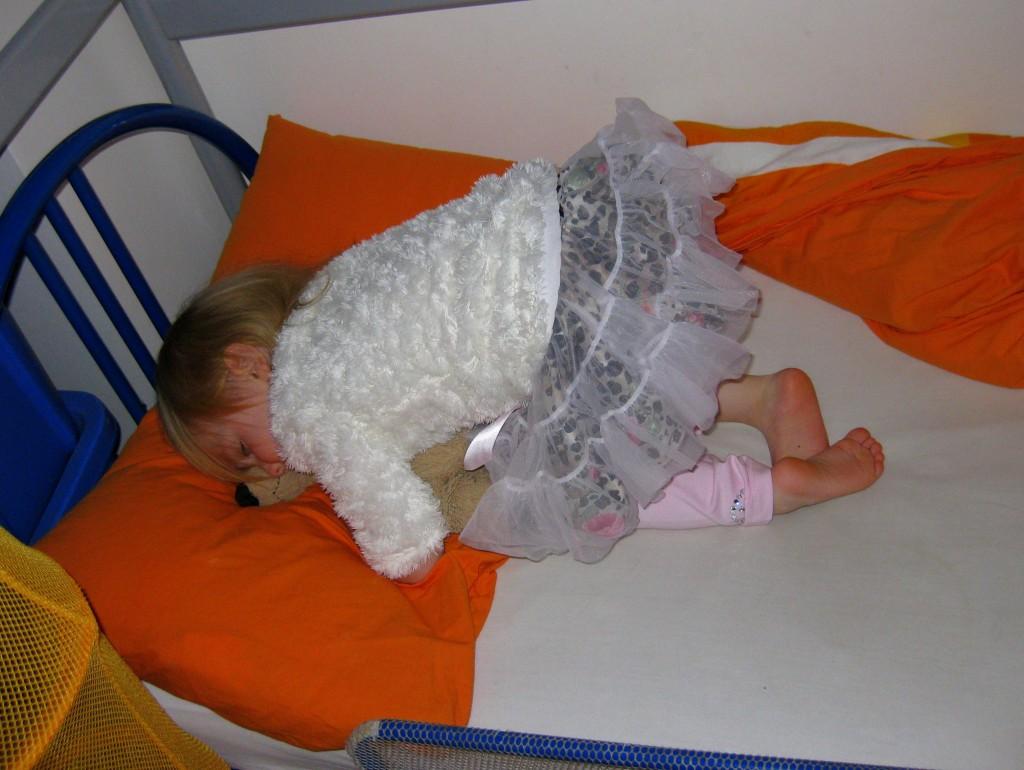 Naptime for Ballerina Sophie