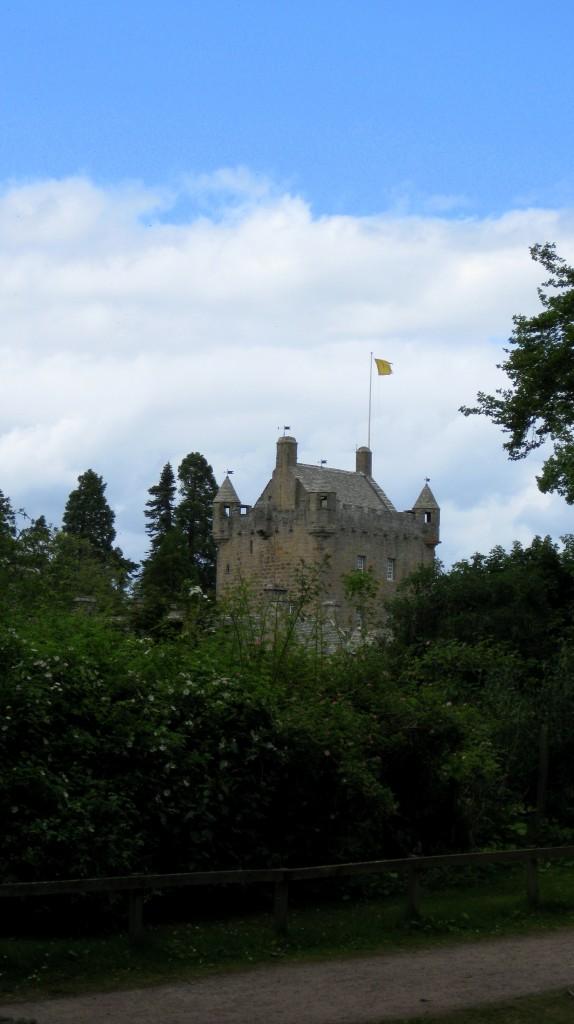 A glimpse of Cawdor Castle 2