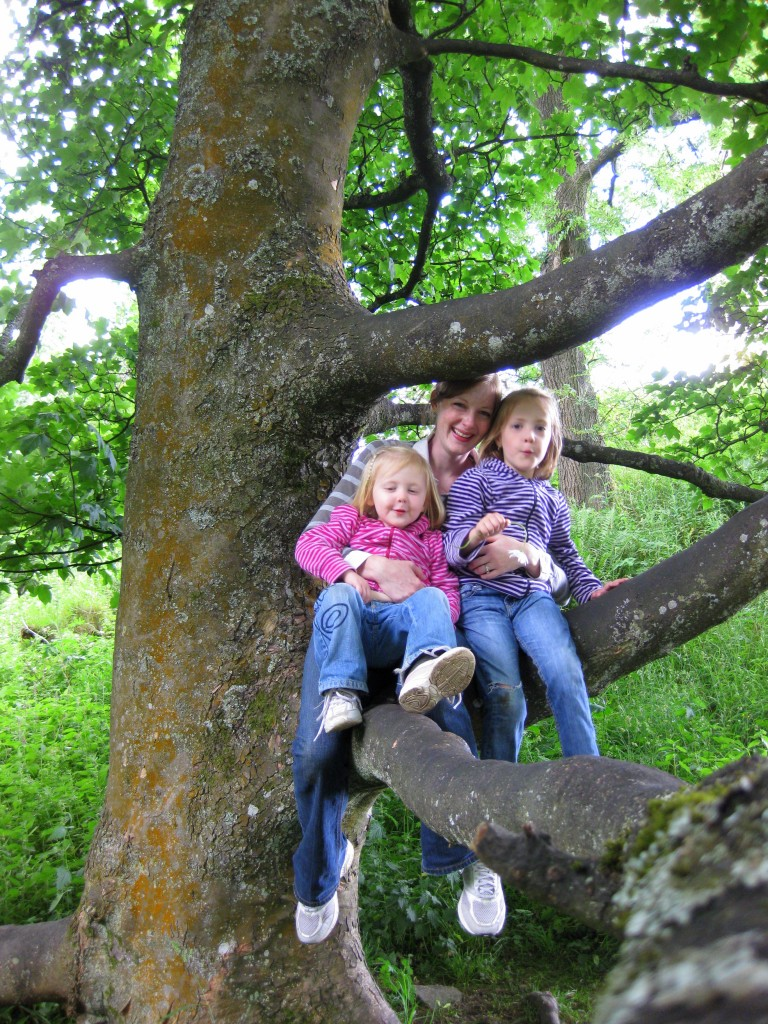 Girls up a tree 2