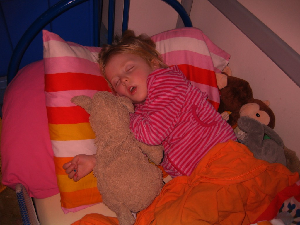 Napping off a fever