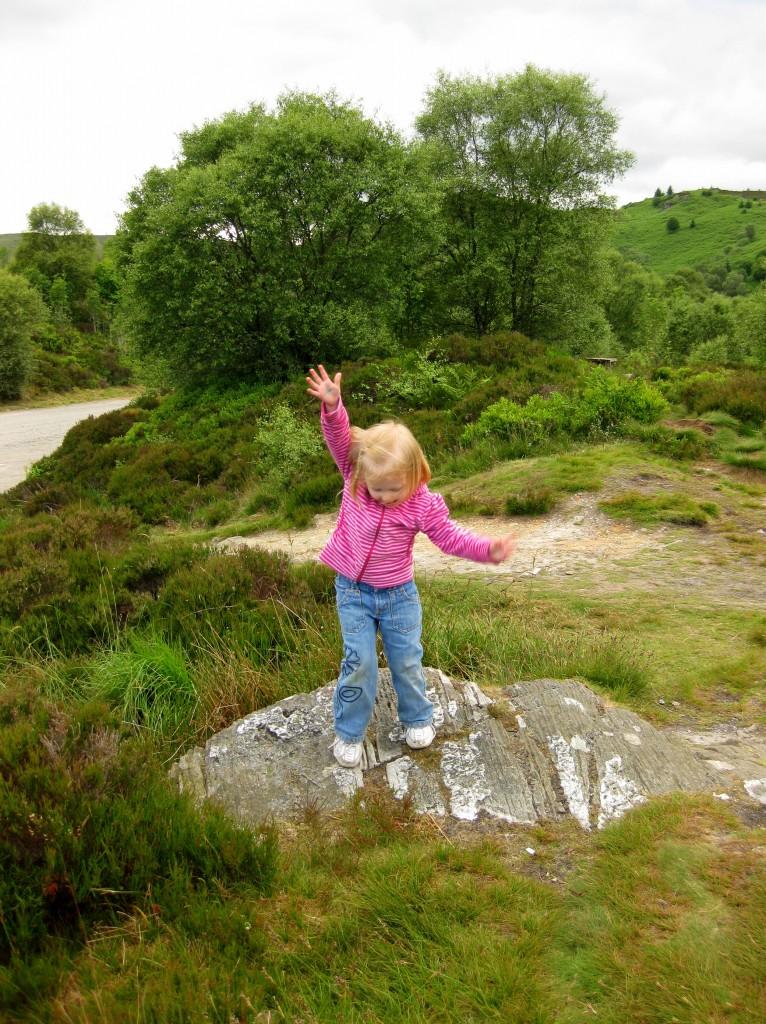 Rock-climbing Sophie 4