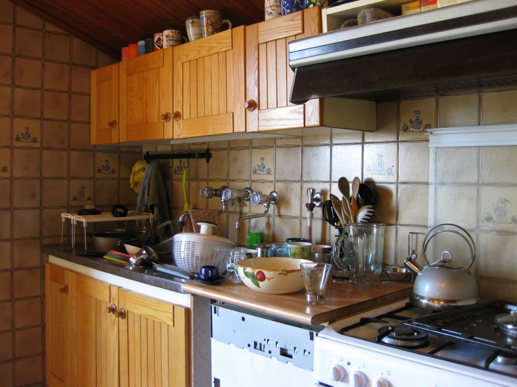 The state of the kitchen