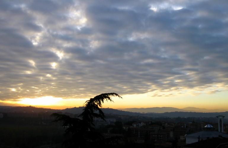 Mackerel sunrise