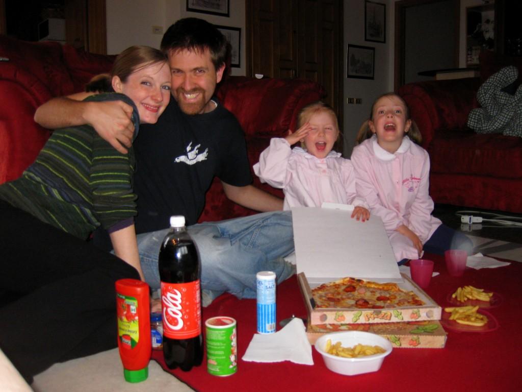 Pizza picnic!