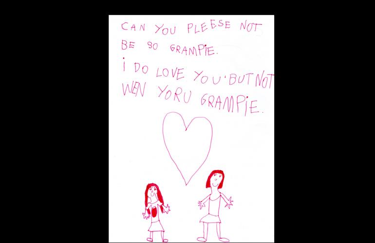 Natalie's letter