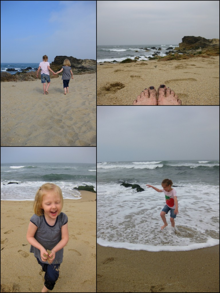Collage - Morning at Lavadores Beach