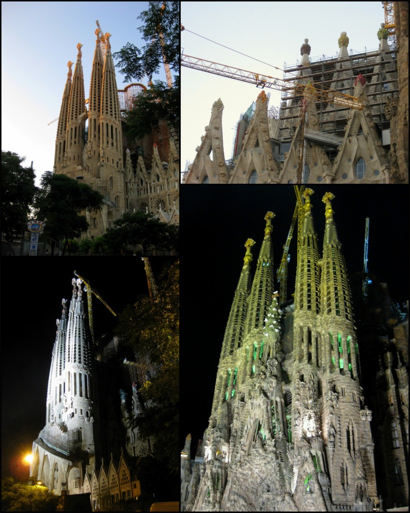 Collage - Sagrada Familia