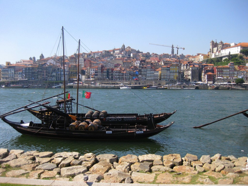 Boats on the Douro - 2