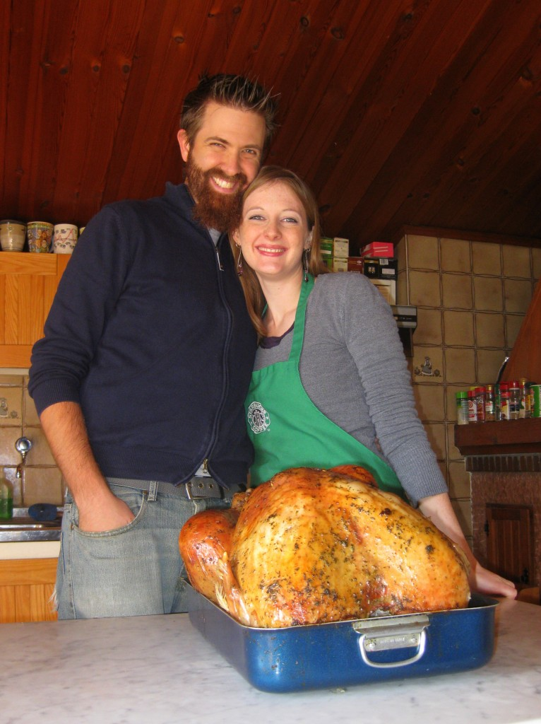Our eighth turkey together... awww
