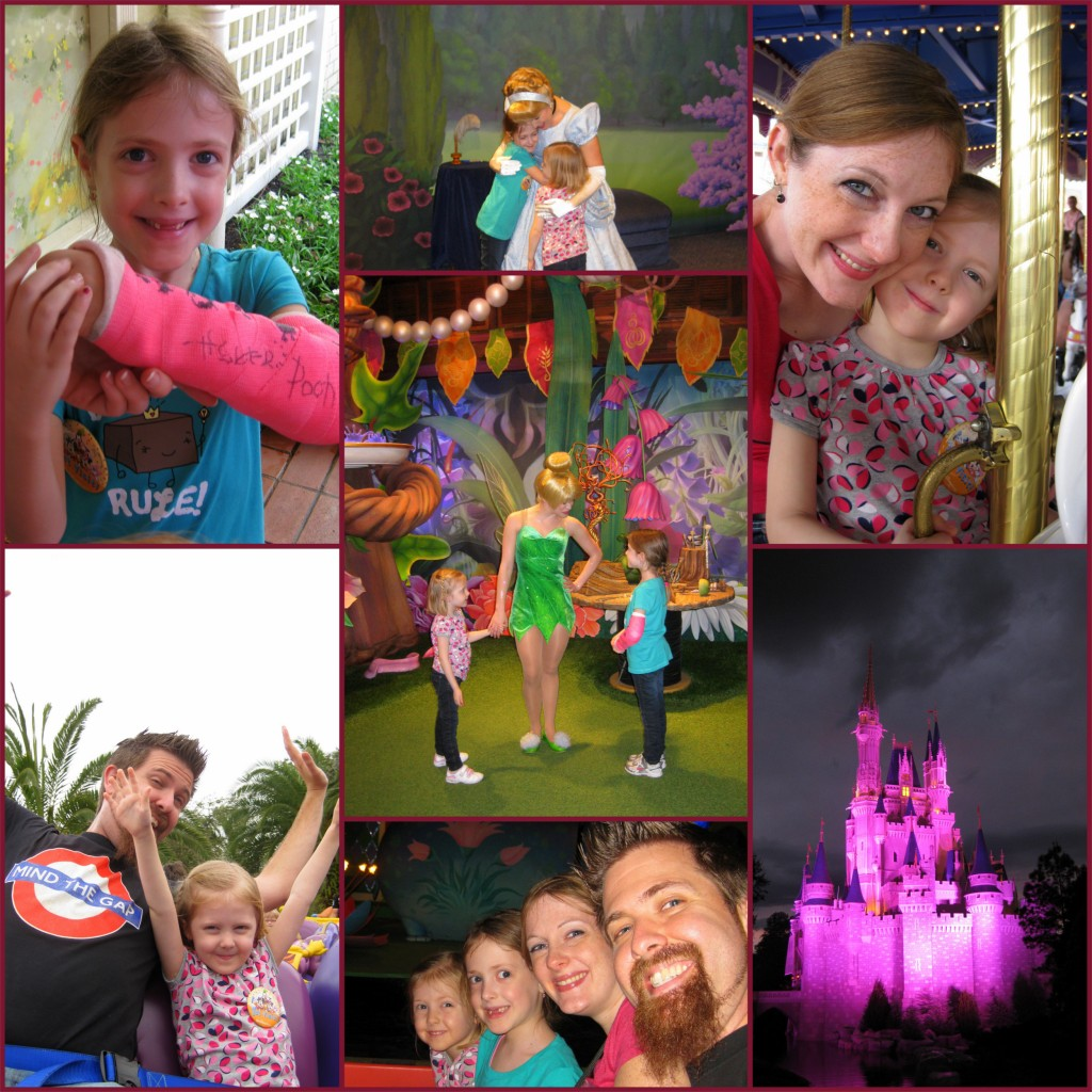 Disney World collage