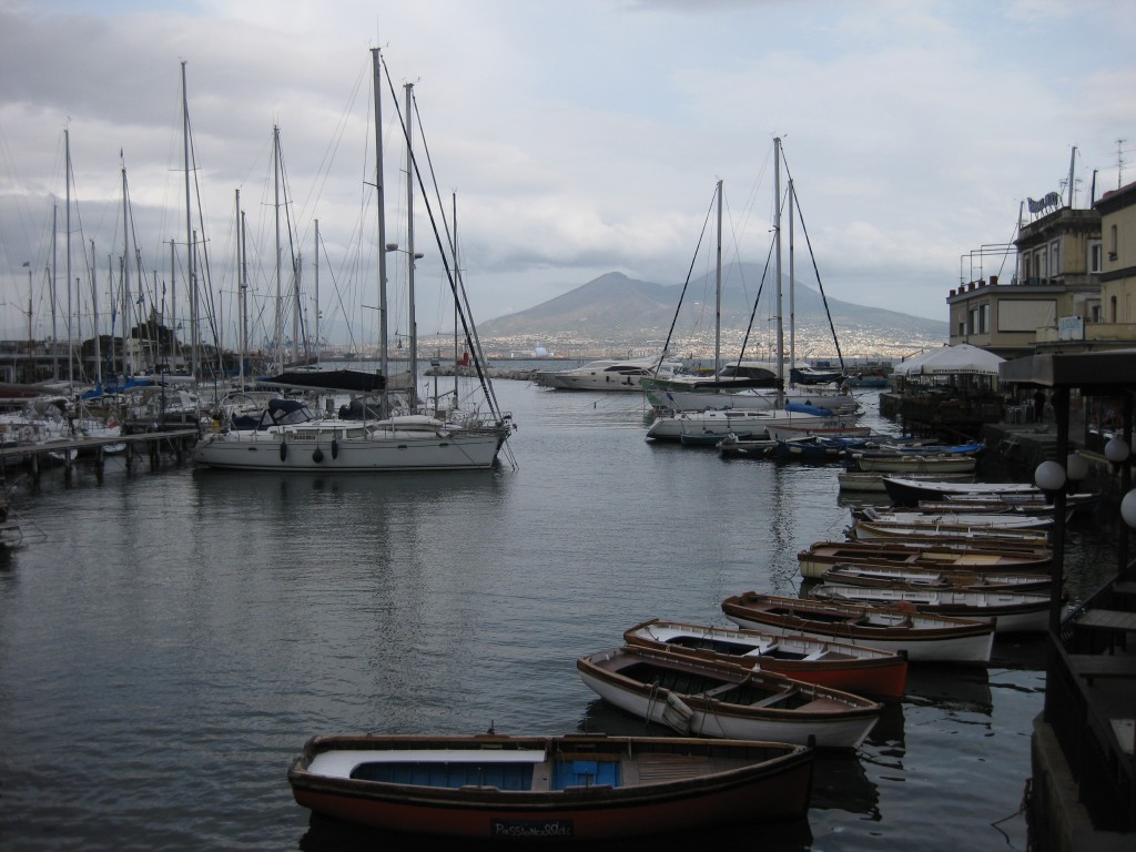 Naples harbor