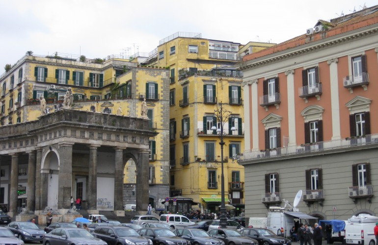 Piazza in Naples