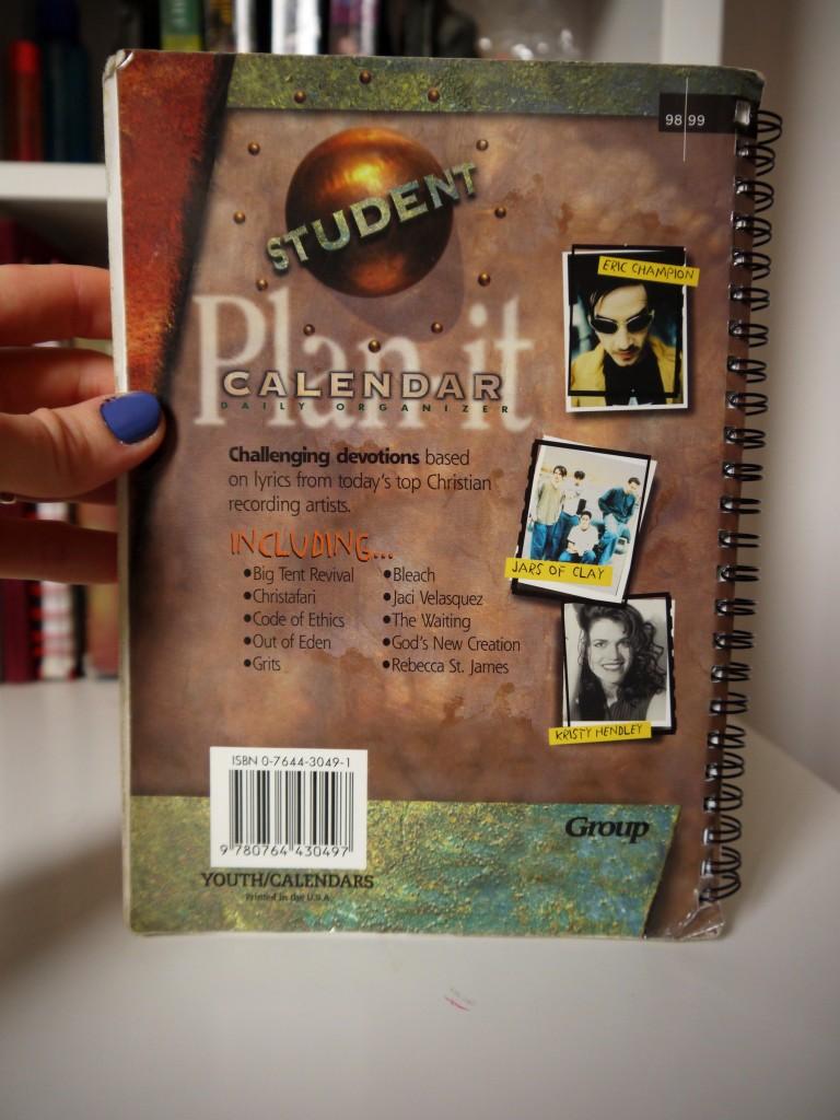 Student Plan It Calendar 98-99