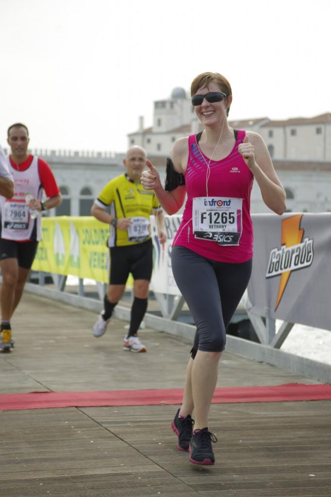Bethany's first marathon