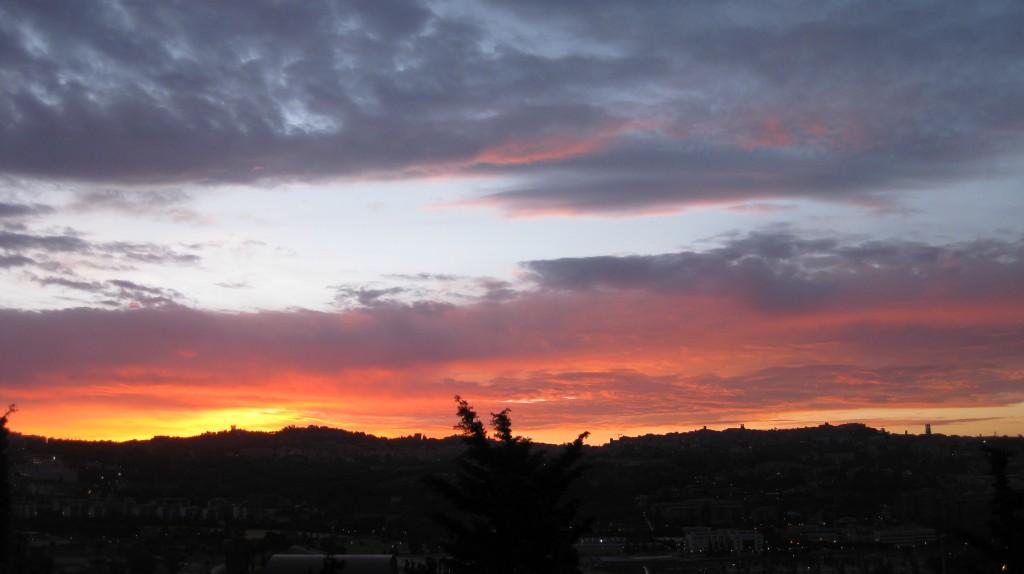 Late spring sunrise