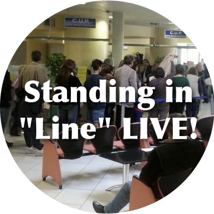Standing in Line LIVE