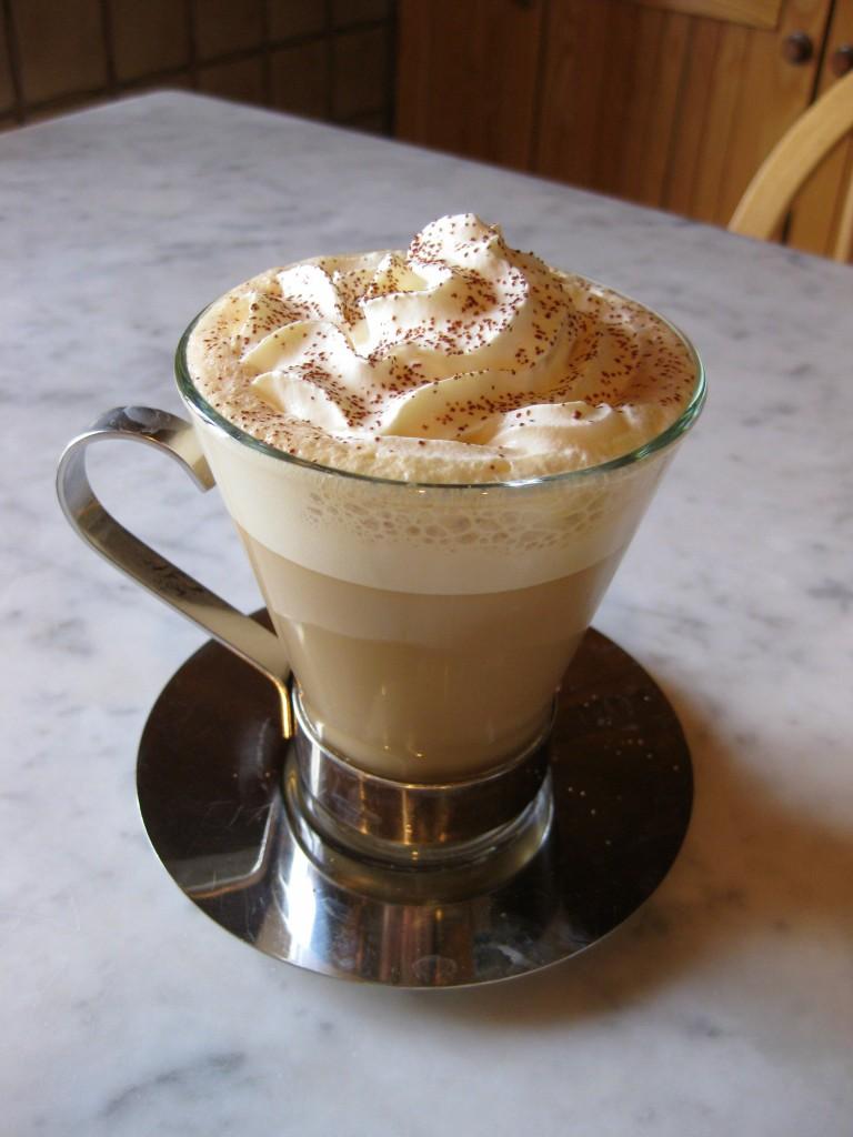Caramel cappuccino