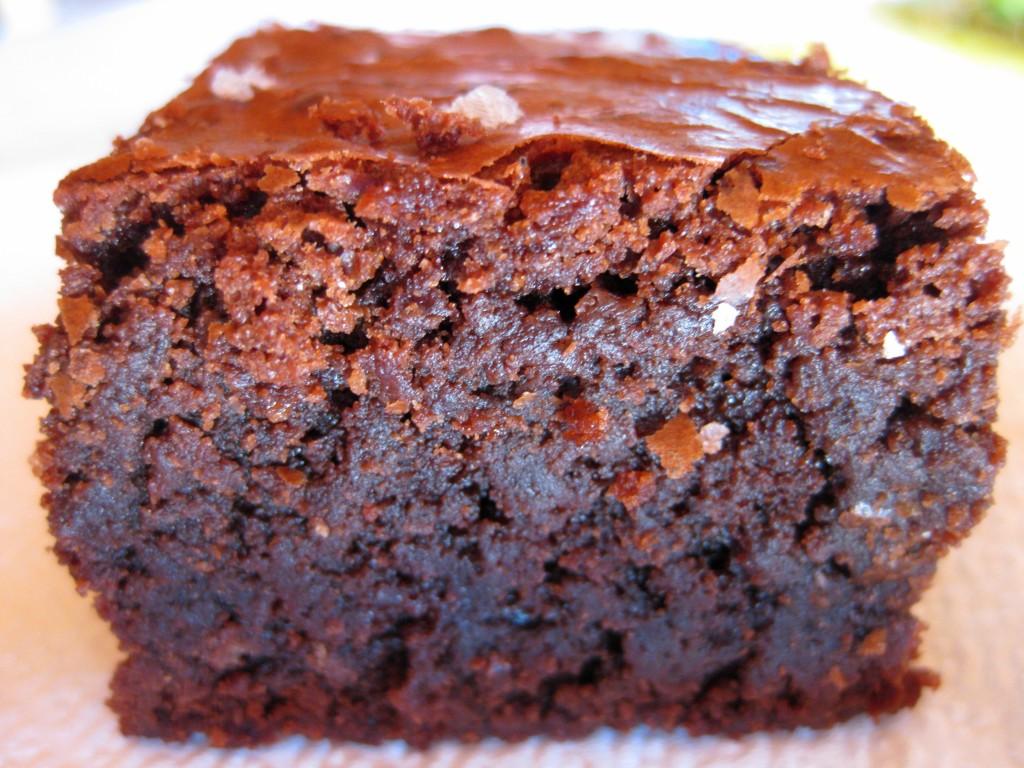 Salted fudge brownie 2