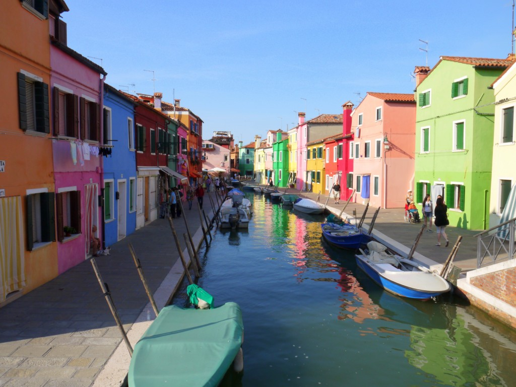Canals of Burano 4