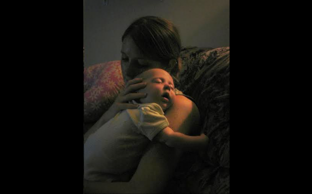 Snuggling Baby Natalie