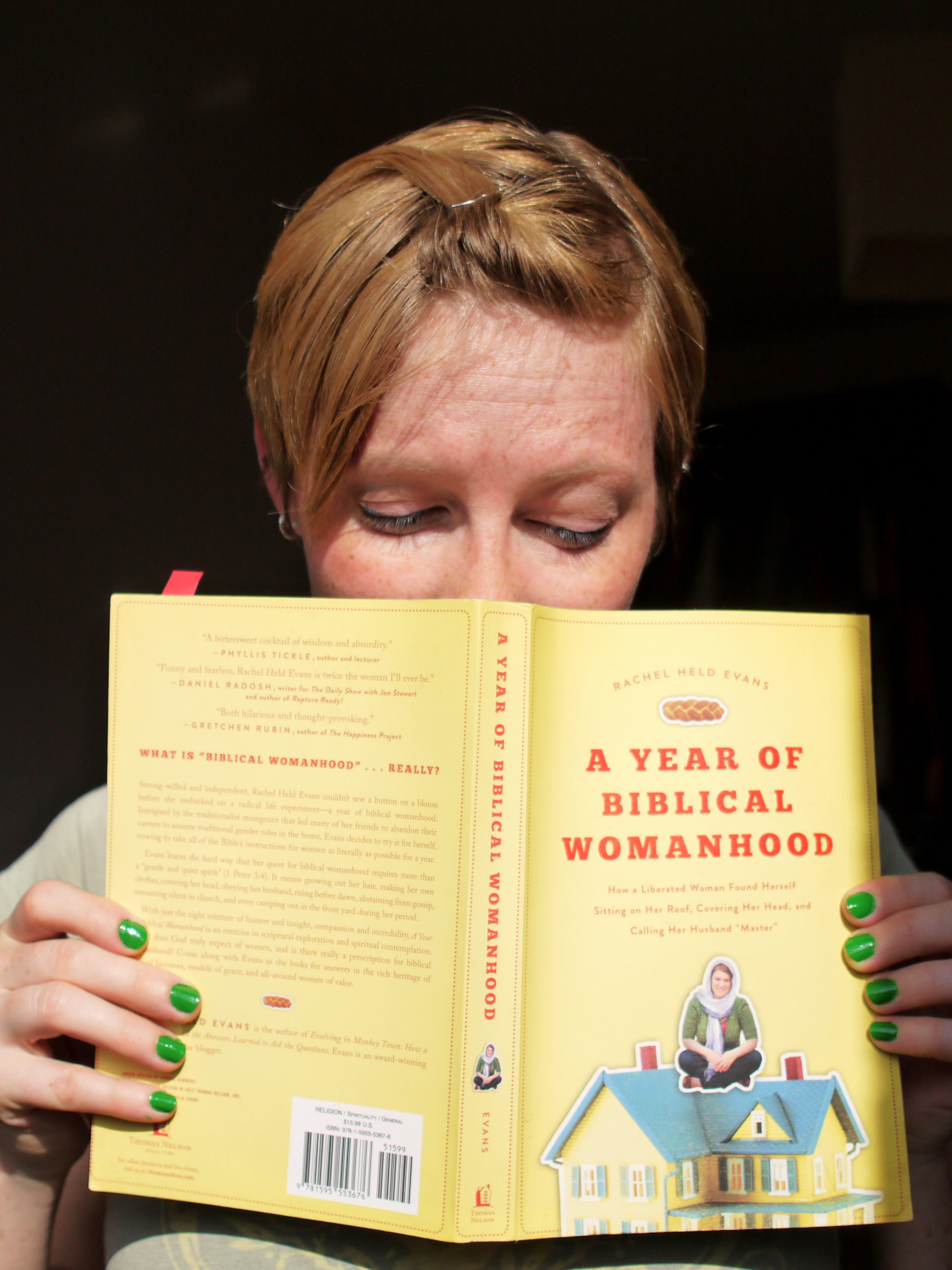 Book Stories - A Year of Biblical Womanhood