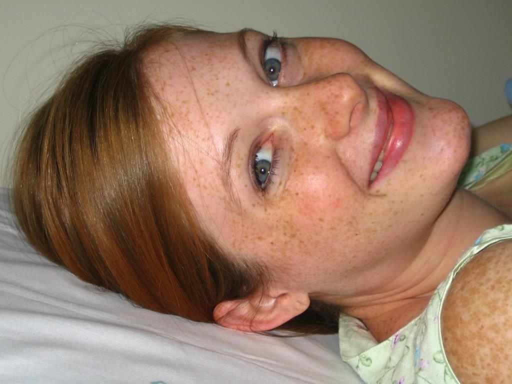 Sophie's birth - Mom